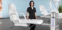 Hydrauliczny fotel kosmetyczny 210 - zobacz różnicę!